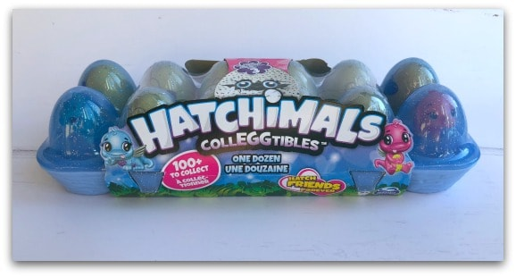 Hatchimals CollEGGtibles come is different packs such as the 12 pack Egg Carton