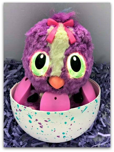 Hatchimals HatchiBabies - even the egg doubles as a high chair