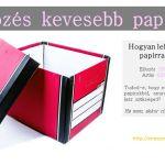 Költözés kevesebb papírral (tippekkel a rendszerezéshez)