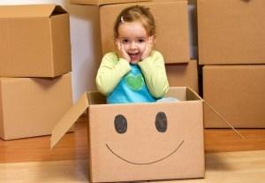 A költözés és a gyerek