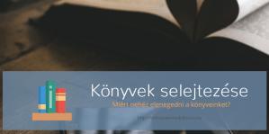 Könyvek selejtezése