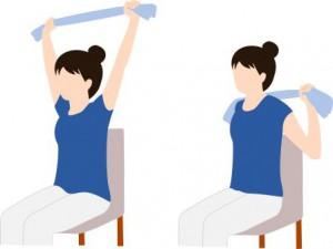 「肩こり  運動」の画像検索結果