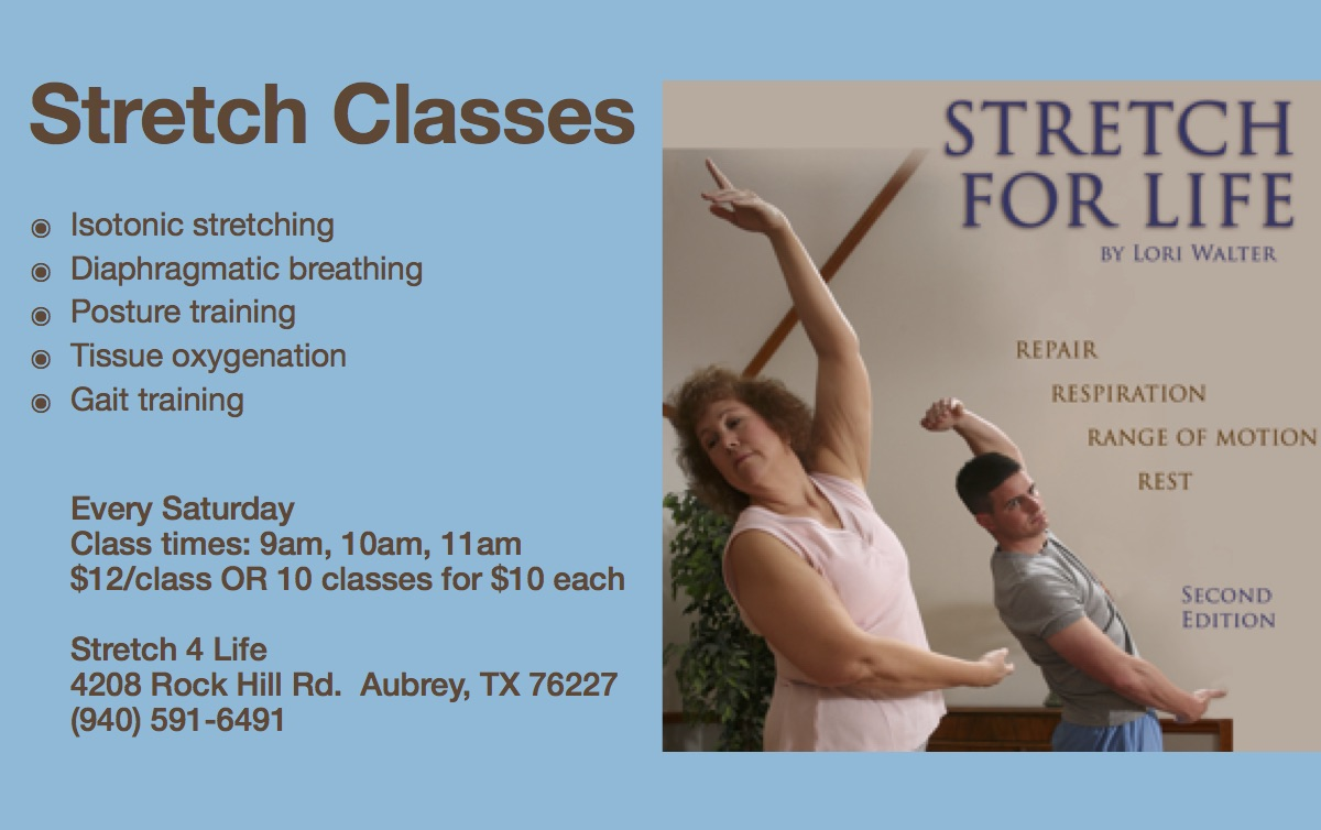 Stretch Classes Are Back This Saturday! | Stretch4Life