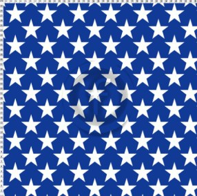 Wonder Woman Stars White on Blue