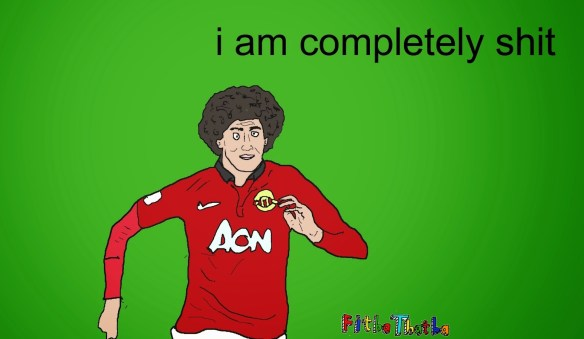 Moyes 1, fellaini