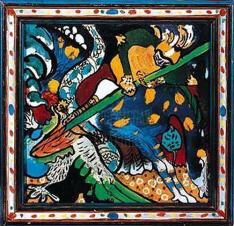 San Giorgio e il drago - Kandinsky