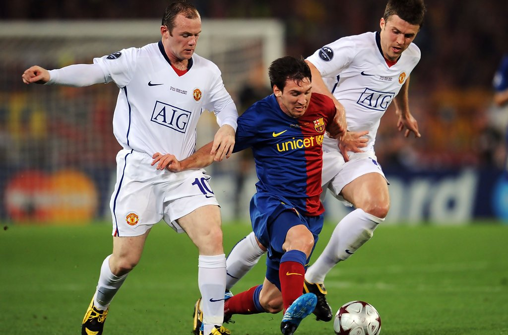 Lionel Messi: Wayne Rooney as good as anyone in Europe