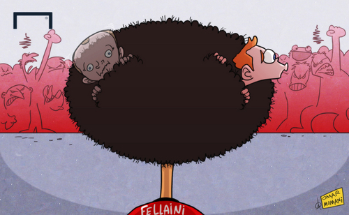Should Marouane Fellaini cut his hair?