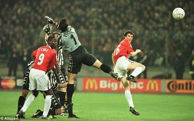 Throwback Thursday: Juventus v Manchester United April 21, 1999