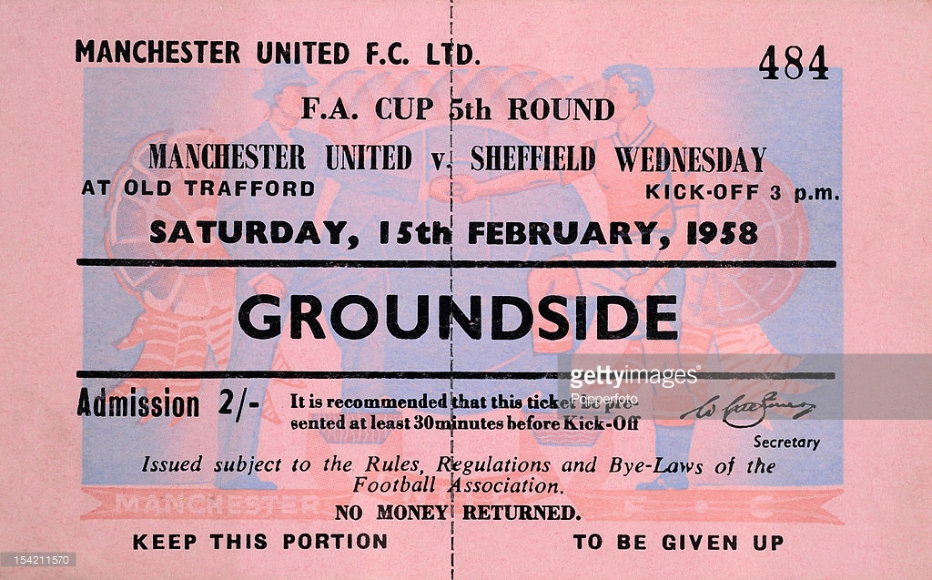 The story behind United's team that faced Sheffield Wednesday 13 days after Munich Air Disaster