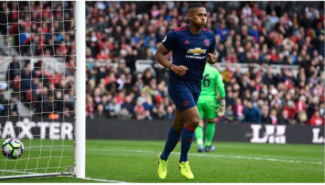 Antonio Valencia's goal all but shattered Boro's survival hopes.