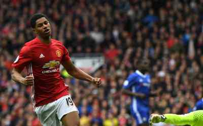 Marcus Rashford assumes mantle, Man United typically do it the hard way