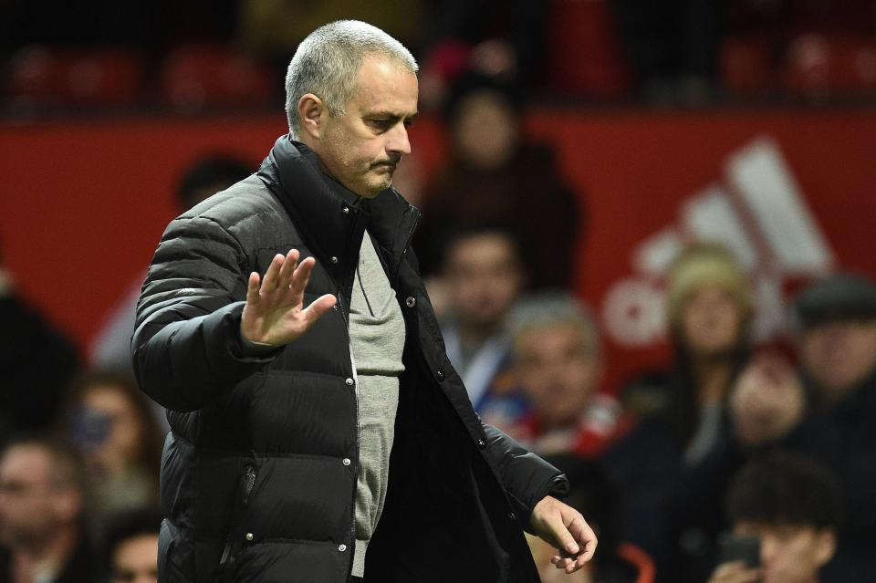 Mourinho's excuses starting to wear thin.