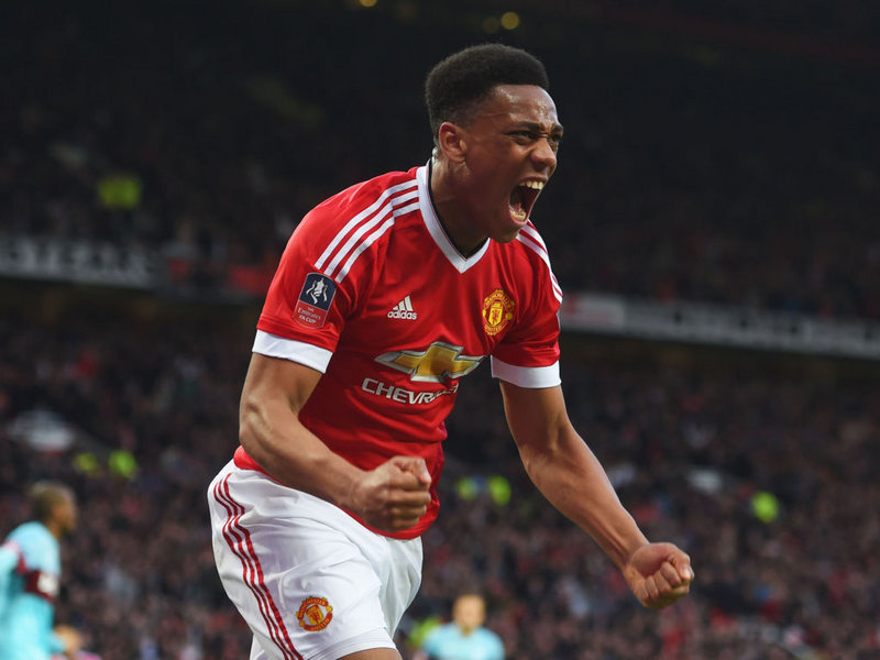 How Anthony Martial's purple patch could not have been better timed.