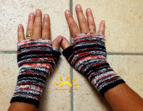 Der Computerfreak - die Handstulpen