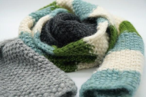 Ein Schal fürs Lebens handgestrickt von strickabenteuer.de
