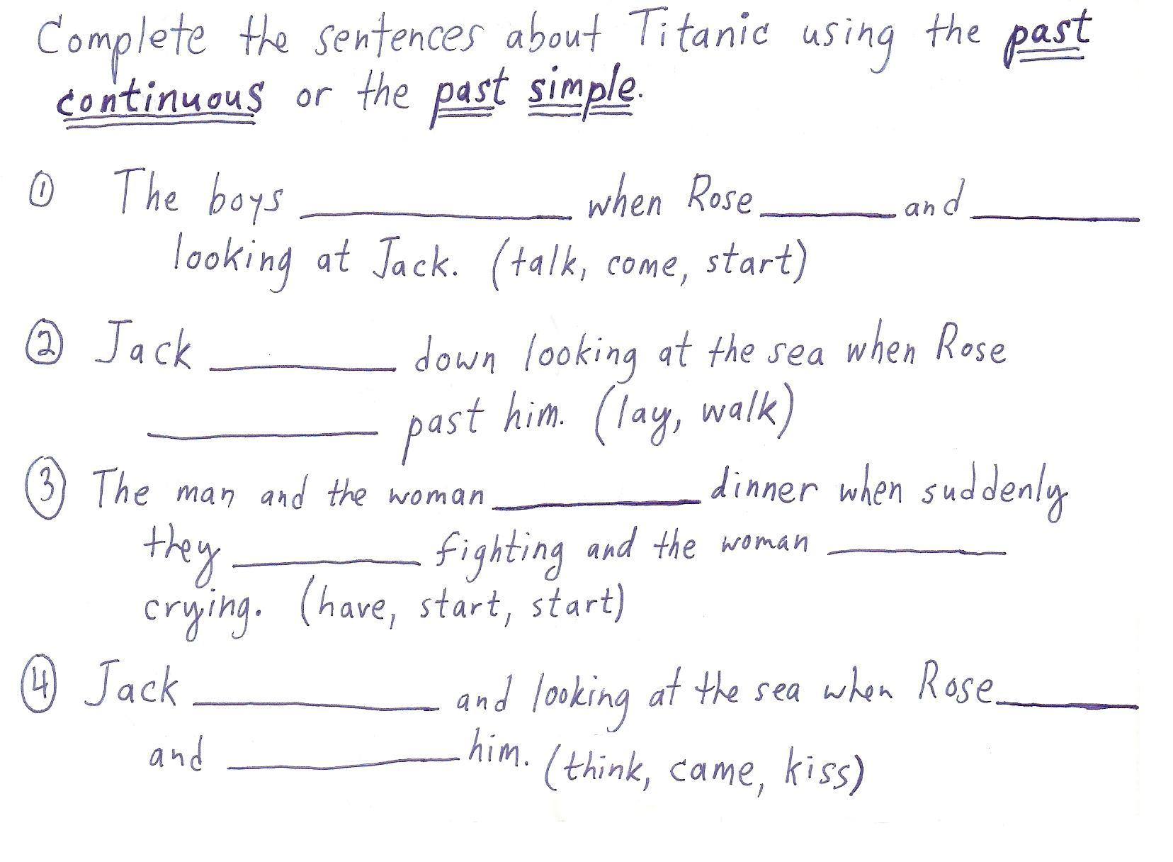 Simple Present Tense Worksheet Advanced