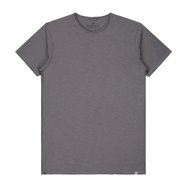 Mc. Queen Basic Tee Slub Jersey Granit Grey