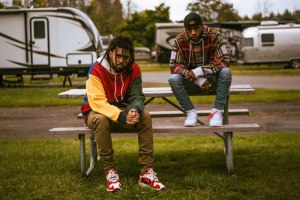 "Watch 6Lack Ft. J Cole ""Pretty Little Fears"""