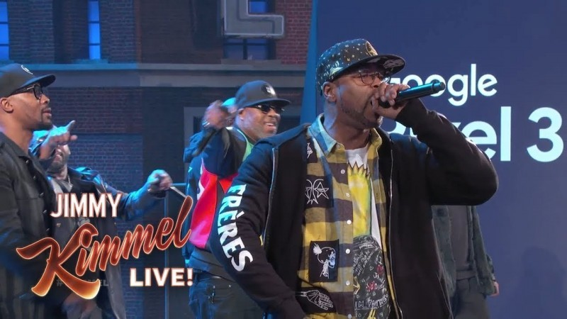 Watch Wu-tang's Performance @ Jimmy Kimmel LIVE!