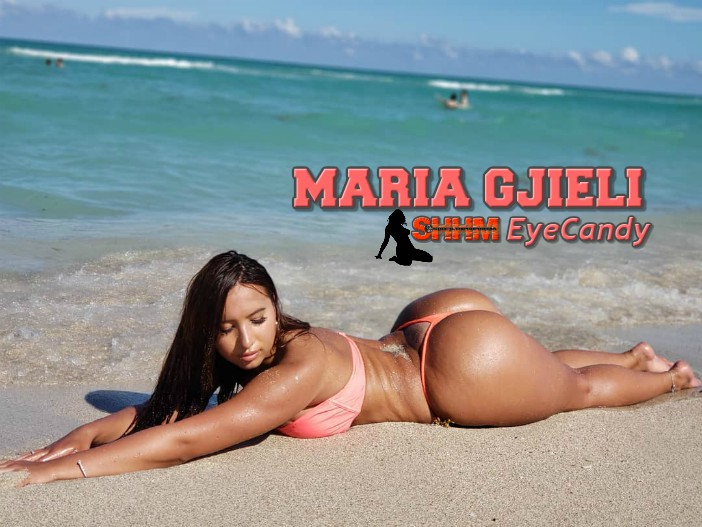 Feast Your Eyes On Miami Model Maria Gijieli