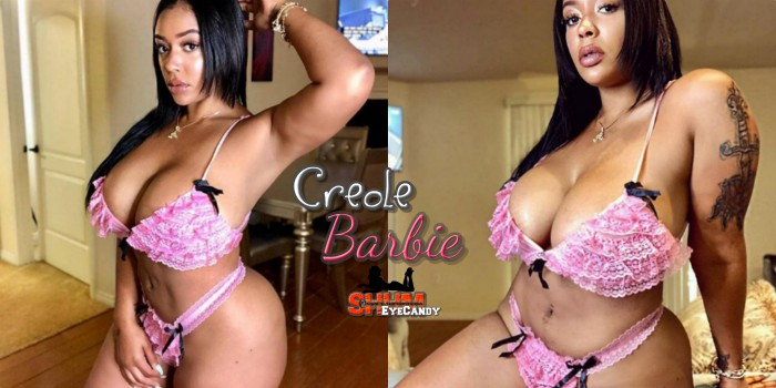 Play House With Sexy Instagram Model Creole Barbie