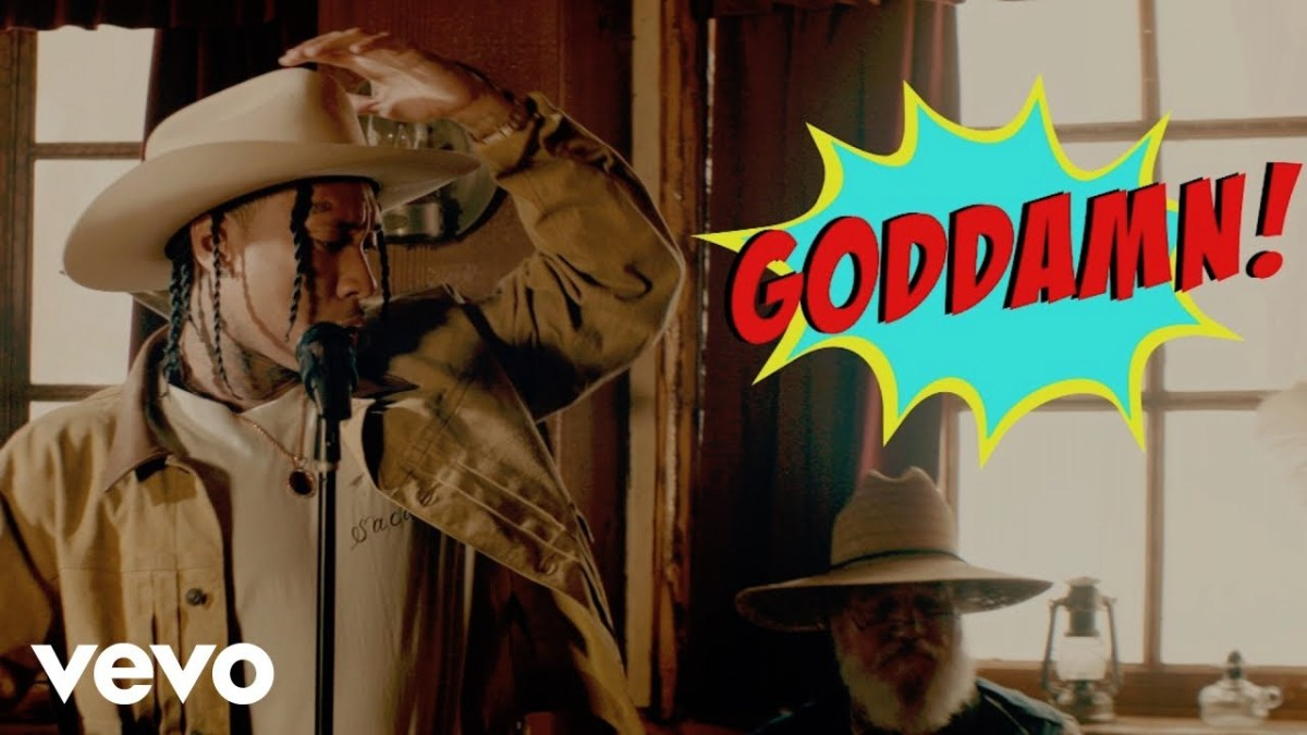 "Tyga Hits The Wild Wild West For His Video ""Goddamn"""
