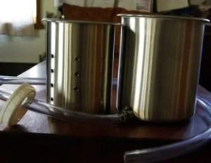 Pressing Pan Assembly, 1/2 Gallon