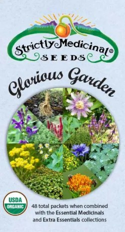 Glorious Garden Medicinal Herb Seed Collection