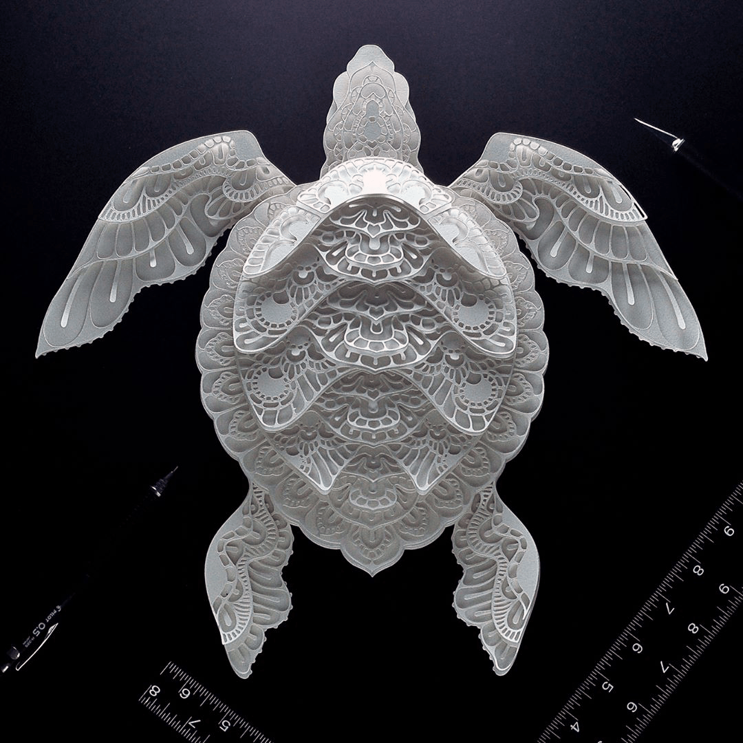 Gorgeous Endangered Species Series In Cut Paper Brings