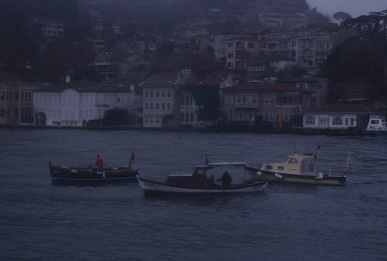 Three boat