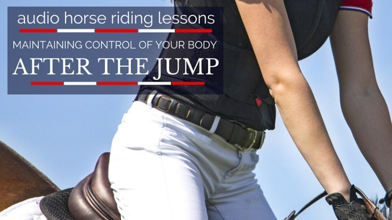 Maintaining Control After Jumping