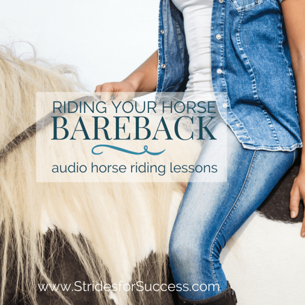 Riding Your Horse Bareback