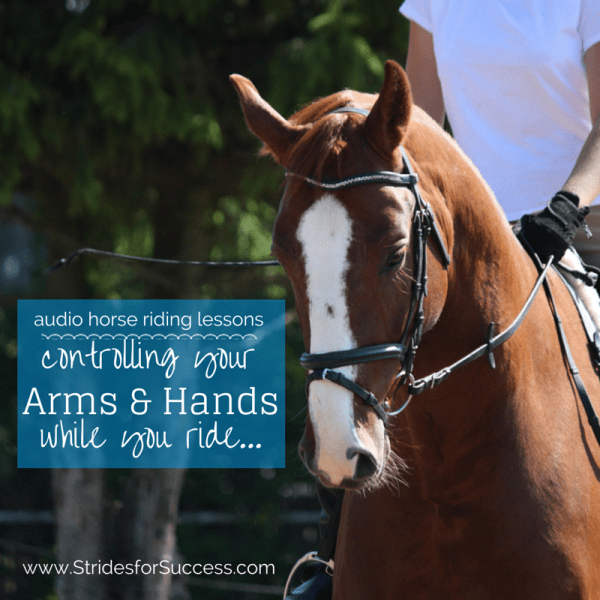 Controlling Your Hands and Arms as you ride