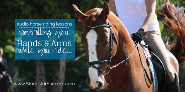 Controlling Your Hands adn Arms while you ride