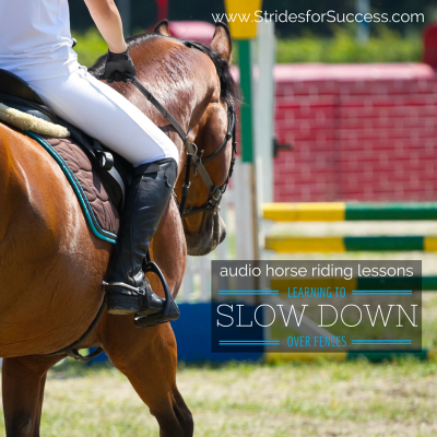 Slow Down Over Fences