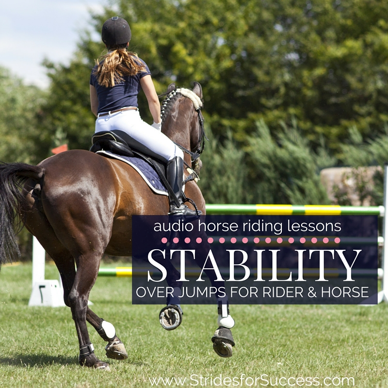 Improving Stability over Jumps for Horse and Rider