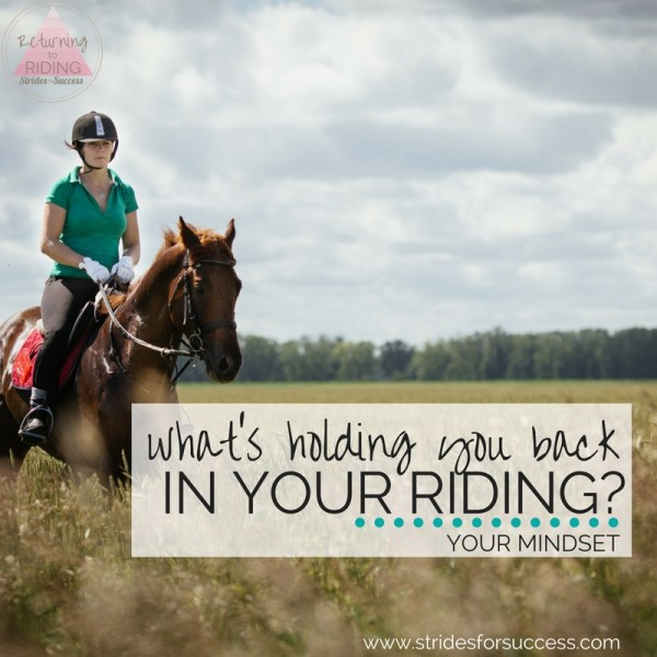 What's holding you back in your Riding?