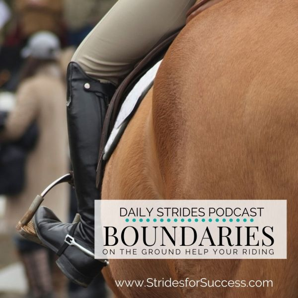 Why Enforcing Your Boundaries on the Ground will Improve Your Riding