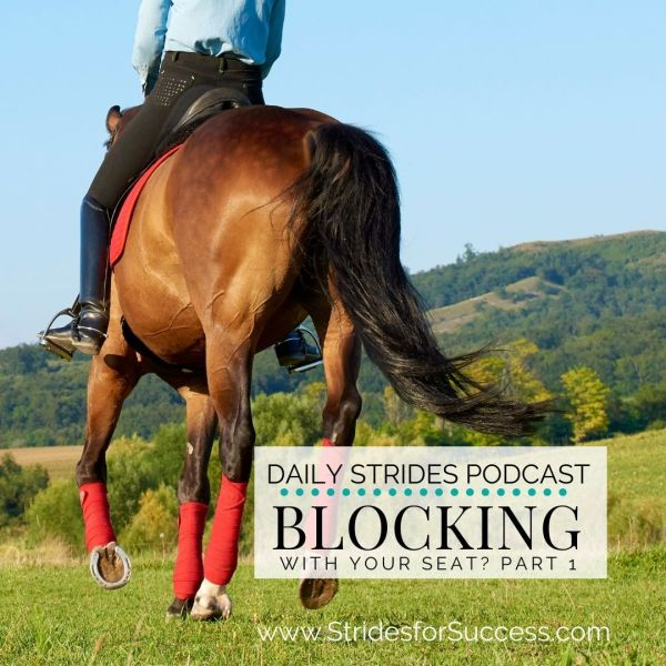 2 Exercises To Find Out If You're Blocking with Your Seat While Riding - Part 1