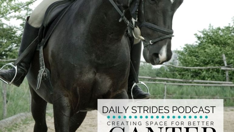 Creating Space for Better Canter Transitions