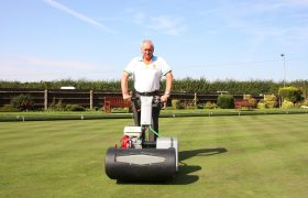The Dennis Razor: the ultimate mower for Wycliffe Bowls Club