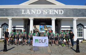 DLF quintet join team to complete more than a bike ride in the country!