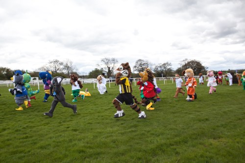 Sue Ryder Mascot Gold Cup at Wetherby Racecourse