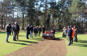 Turf professionals see Charterhouse machines in action at Thetford GC