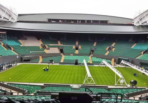 new roof on Court One Wimbledon