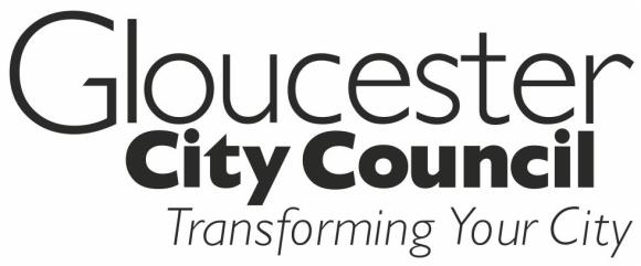 A logo for Gloucester City Council