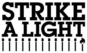 The Strike A Light logo.