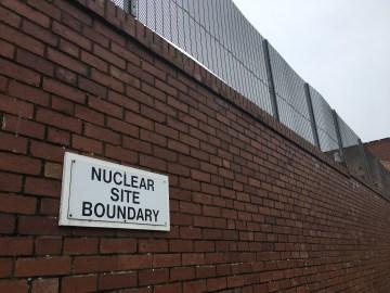 Nuclear Site Boundary in Barrow