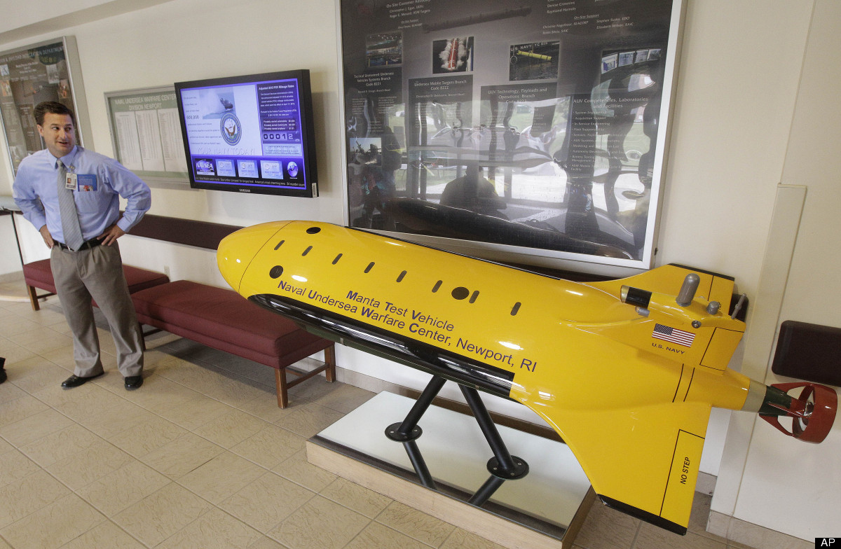 Unmanned Drones Take to the Seas